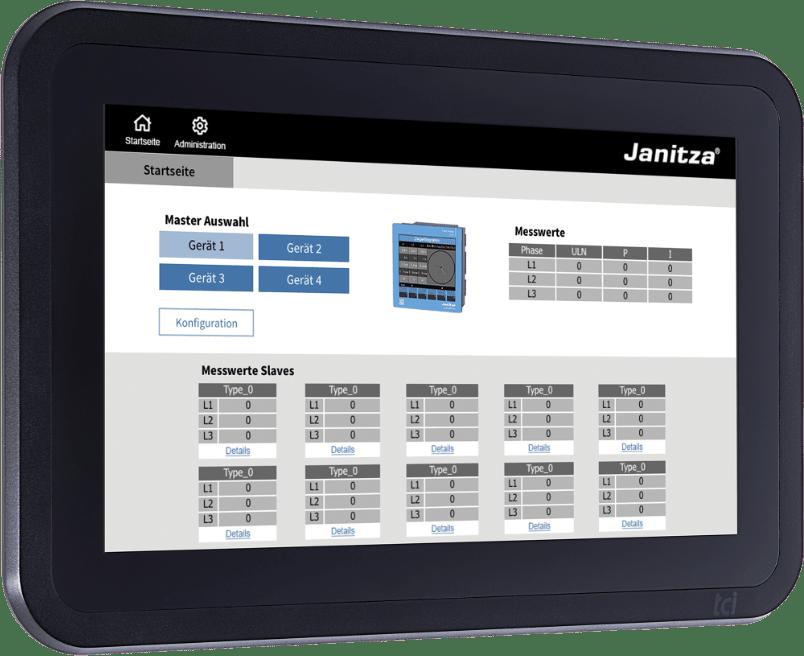 Smart Energy Panel JPC 100-WEB