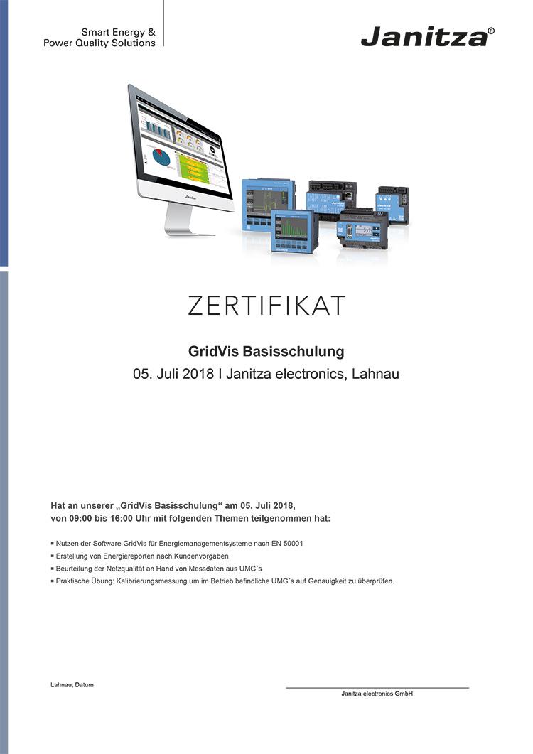 Abb.: Konfiguration von Messgeräten in der GridVis®